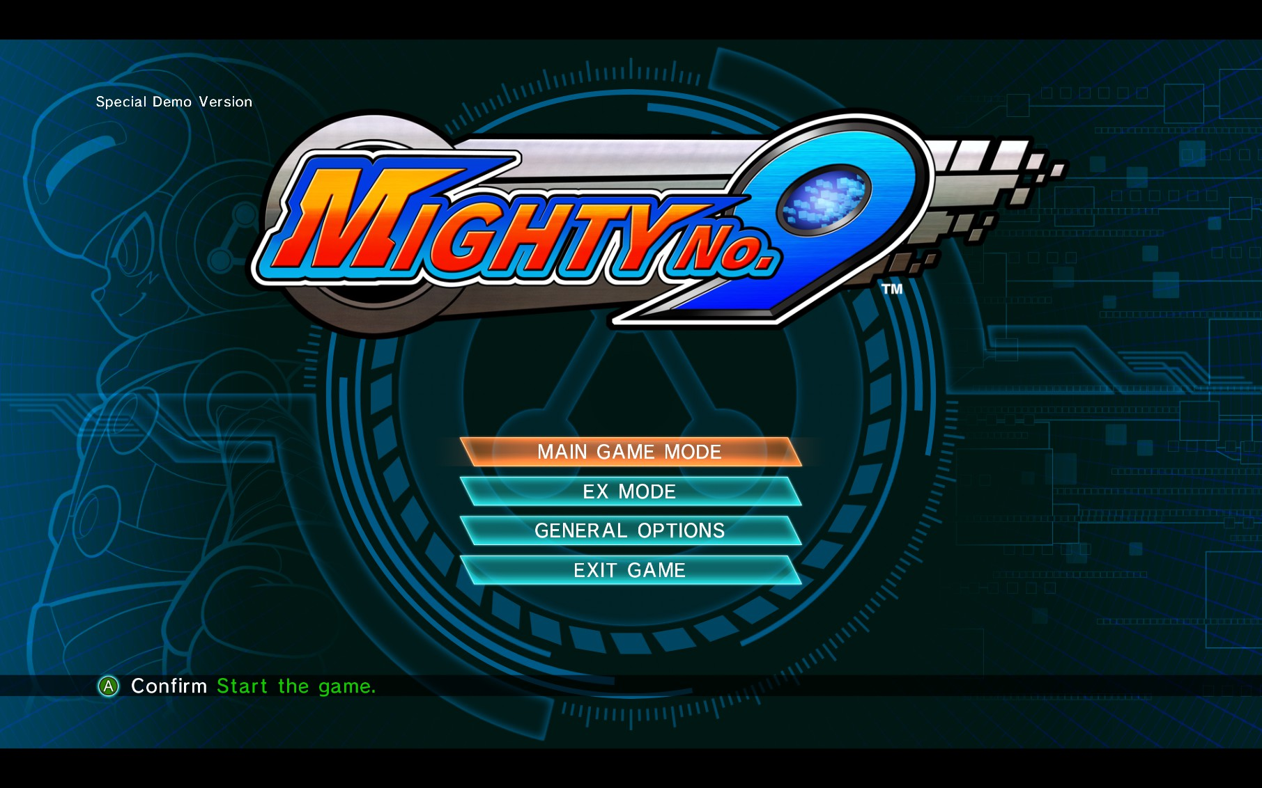 Mighty No. 9 Demo Impression